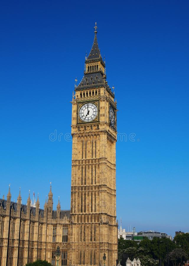 Download Big Ben in London stock image. Image of parliament, kingdom - 24144425