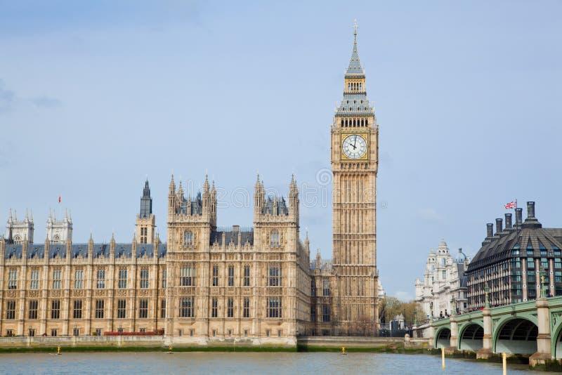 Big ben London. Landscape of big ben at city westminster London England UK stock image