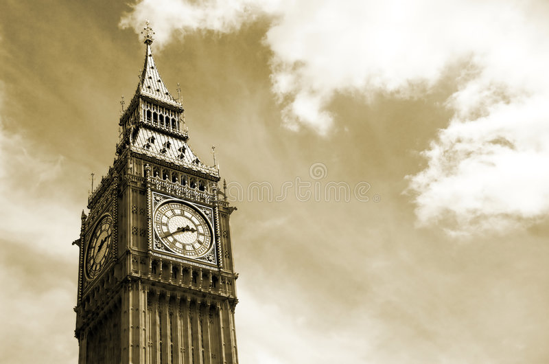 Download Big Ben, London stock photo. Image of famous, commons - 2771322