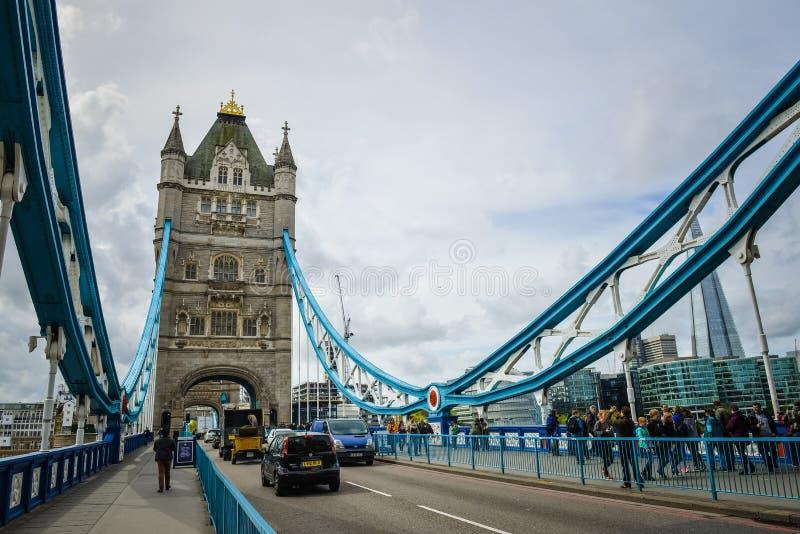 Big Ben, London-Brücke England stockfotos