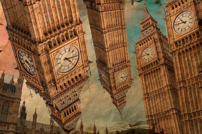 Big Ben, London, digital art stock images