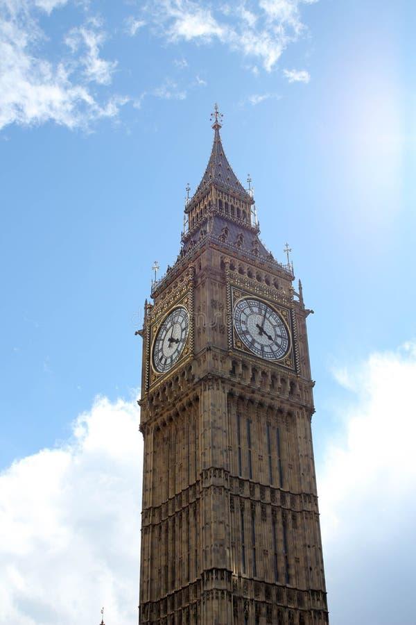 Big Ben in London, England Besichtigung, Holiday-2 lizenzfreie stockfotografie