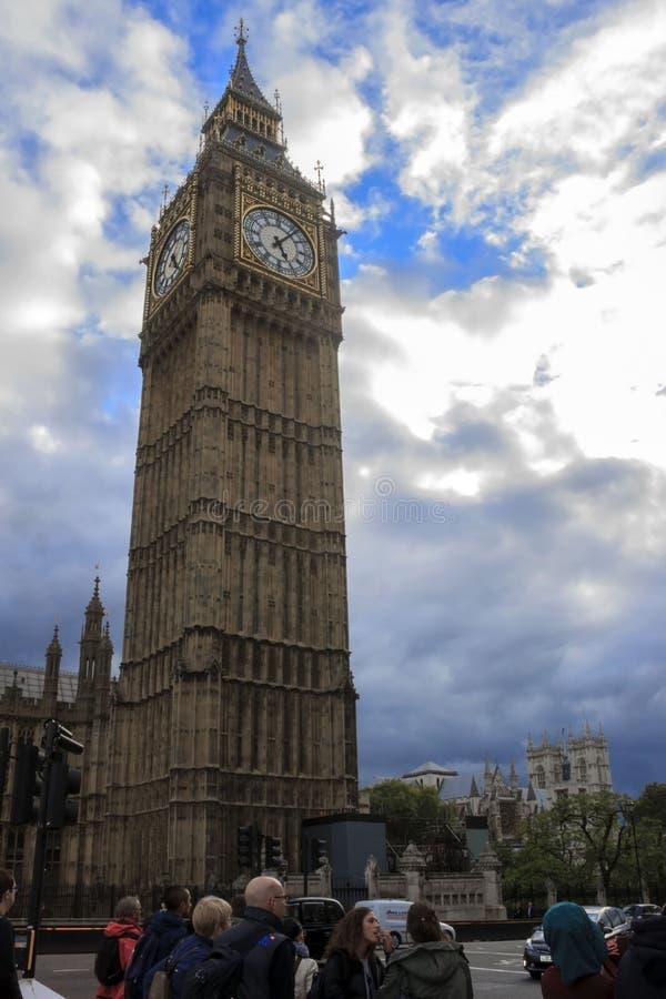 Big Ben. London, England, UK. royalty free stock photos