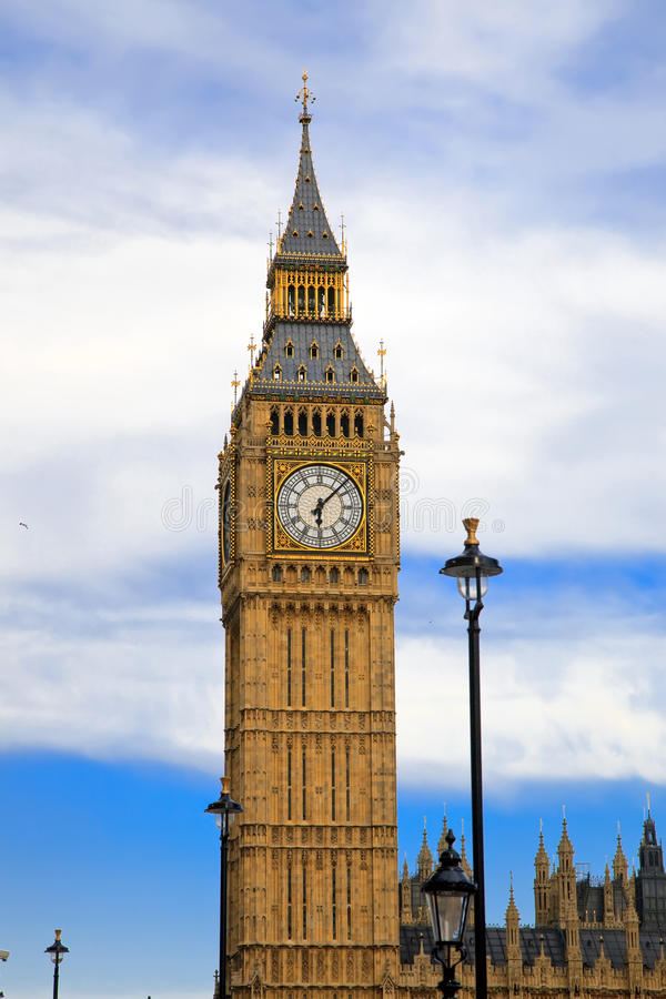 Download Big Ben In London At Evening Stock Photo - Image: 11016980