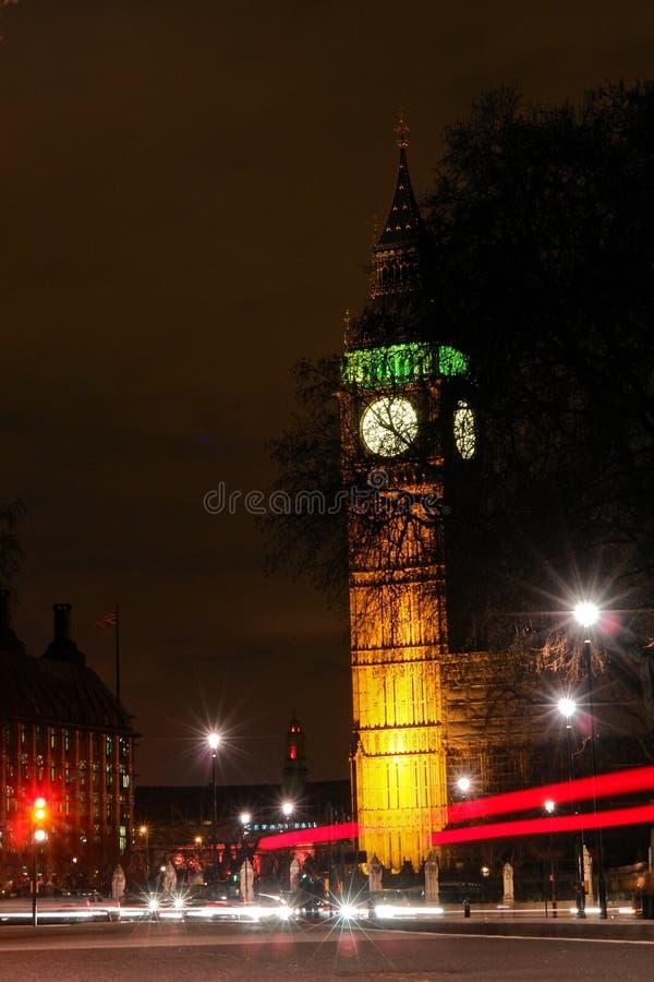 Download Big Ben, London - Night Scene Stock Photo - Image: 13824114