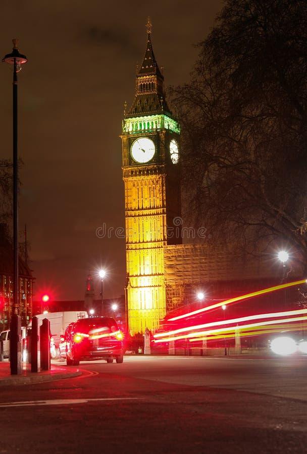 Download Big Ben, London - Night Scene Stock Photo - Image: 14377908
