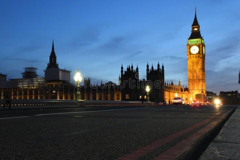 Big Ben, London During Nighttime stock photo
