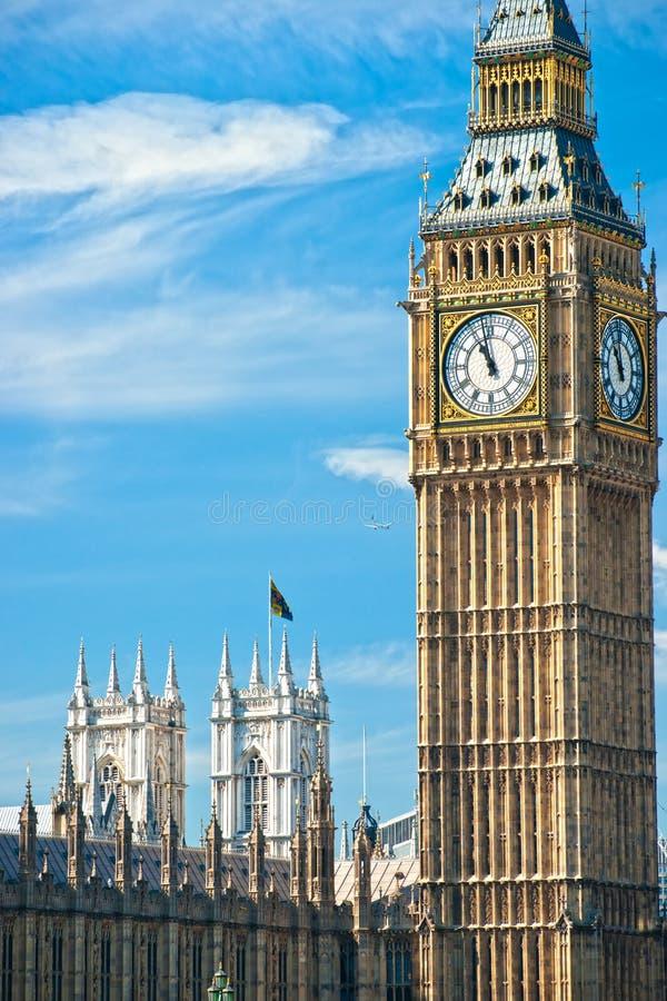 The Big Ben, London, UK. Stock Photos