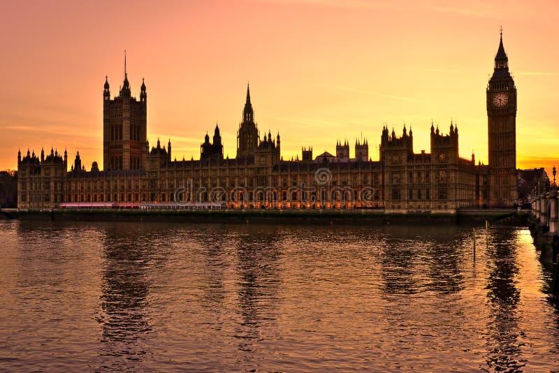 The Big Ben,  London, UK. Royalty Free Stock Photo