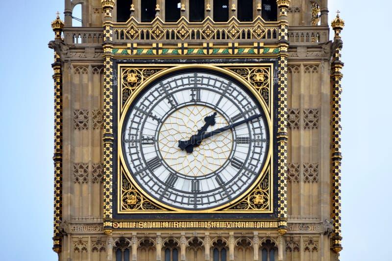 Big Ben a Londra, Inghilterra immagini stock libere da diritti