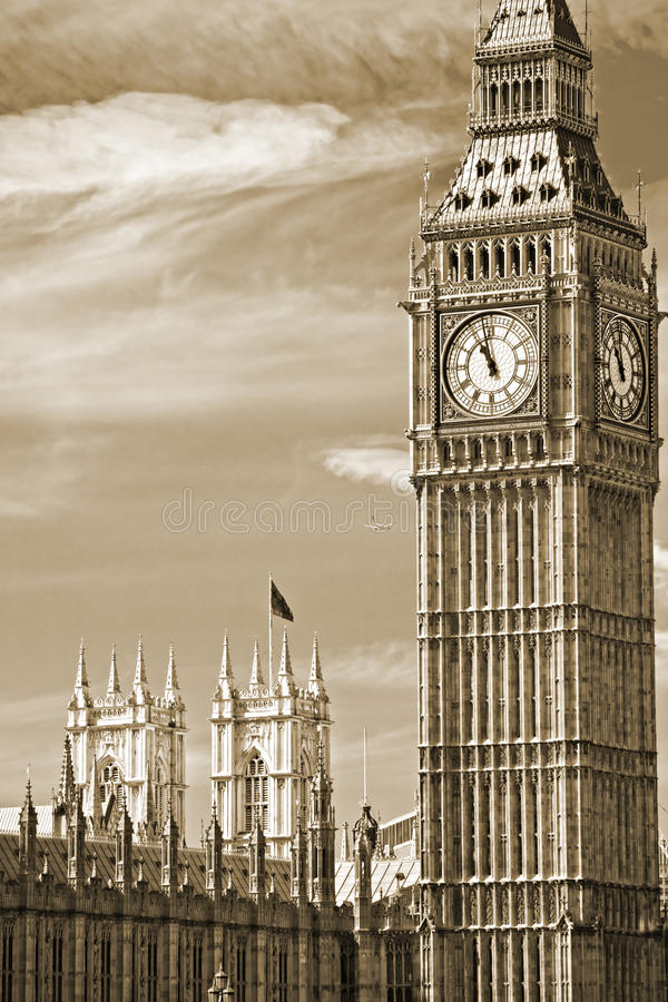 Big Ben, Londres, Reino Unido.
