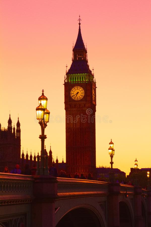 Big Ben, Londres, Reino Unido imágenes de archivo libres de regalías