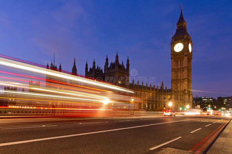Big Ben Londyn fotografia royalty free