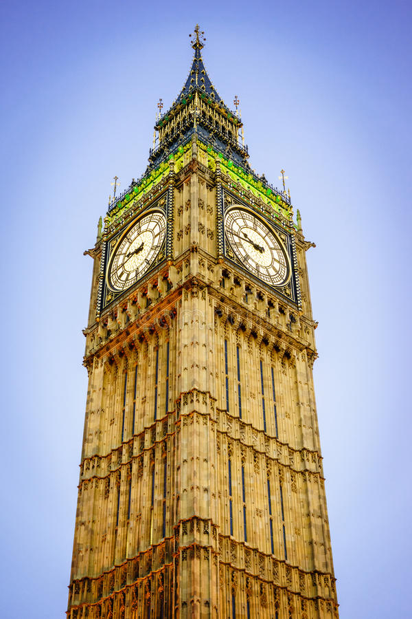 Big Ben, Londyn, Anglia UK fotografia stock
