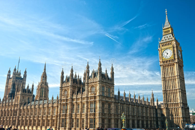 Big Ben, Londyn UK. obrazy royalty free