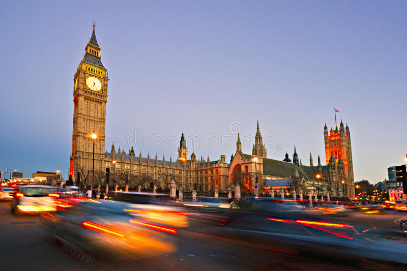 Big Ben, Londyn, UK. obrazy royalty free