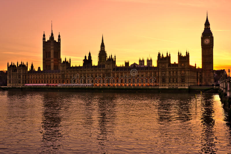 Big Ben, Londyn, UK. zdjęcie royalty free
