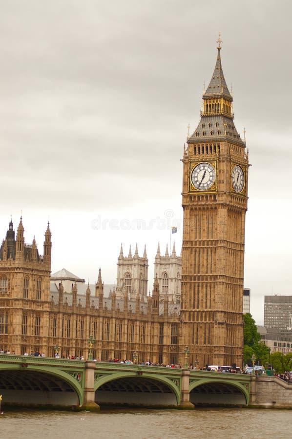 Big Ben na tarde imagem de stock