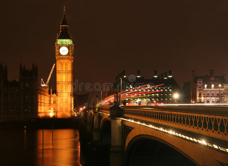 Download Big Ben at Night stock photo. Image of britain, time, travel - 3994552