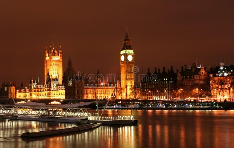 Download Big Ben at Night stock image. Image of golden, political - 433151