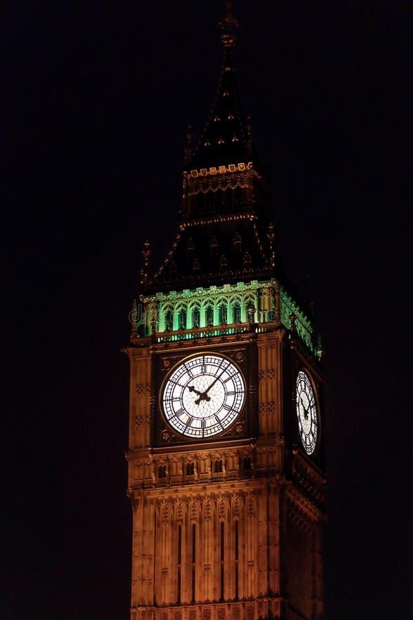 Big Ben Night stock photo