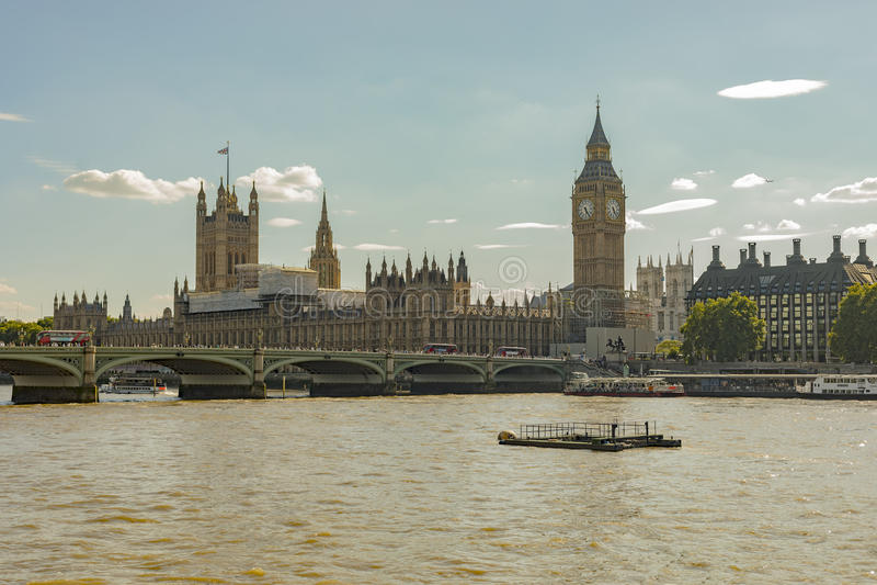 Big Ben odświeżanie obraz royalty free
