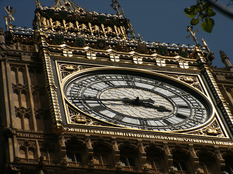Download Big Ben the other way stock image. Image of great, architecture - 173083
