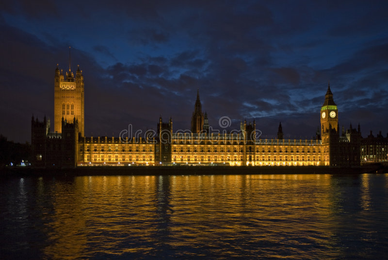 Big Ben - Parliament royalty free stock image