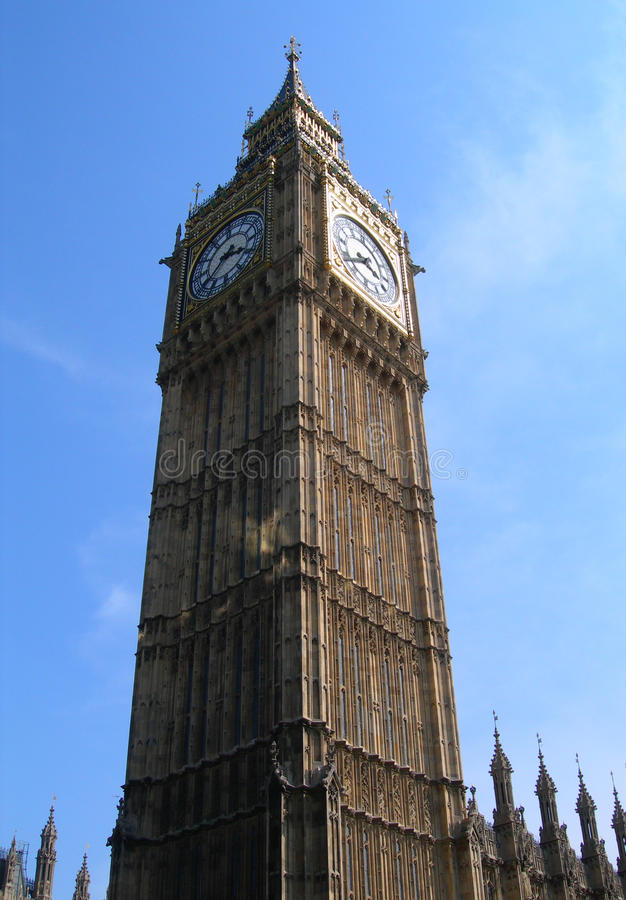 Download Big Ben And The Parliament Building In London Stock Photo - Image: 9879010