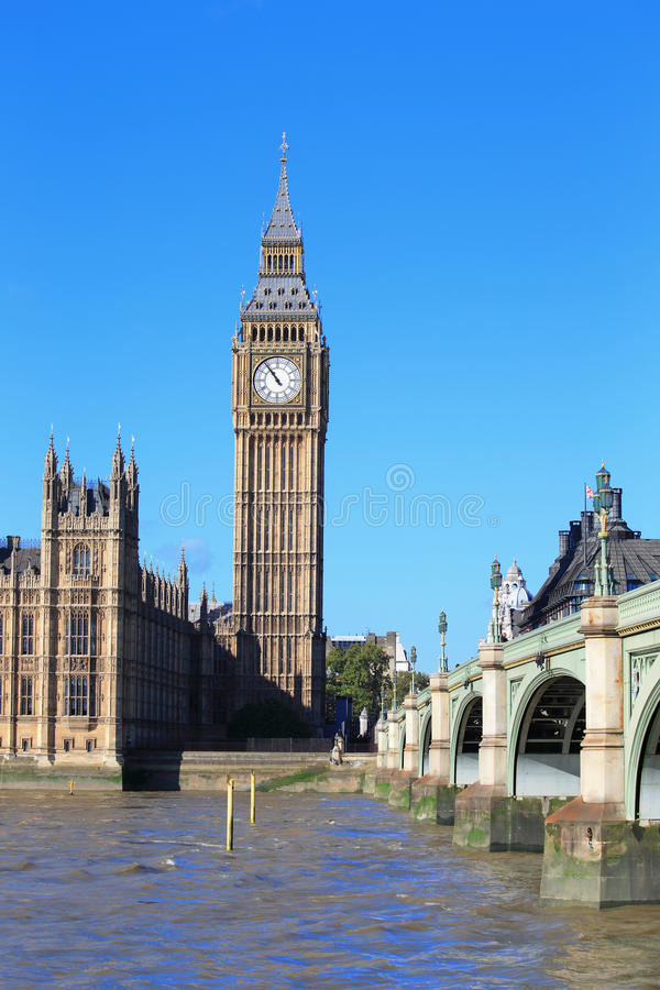 Big Ben scenery. For your travel concept stock images