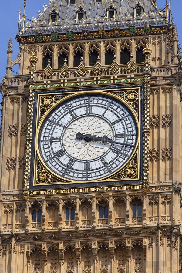 Big Ben, torre de reloj del palacio de Westminster, Londres, Reino Unido imagen de archivo libre de regalías