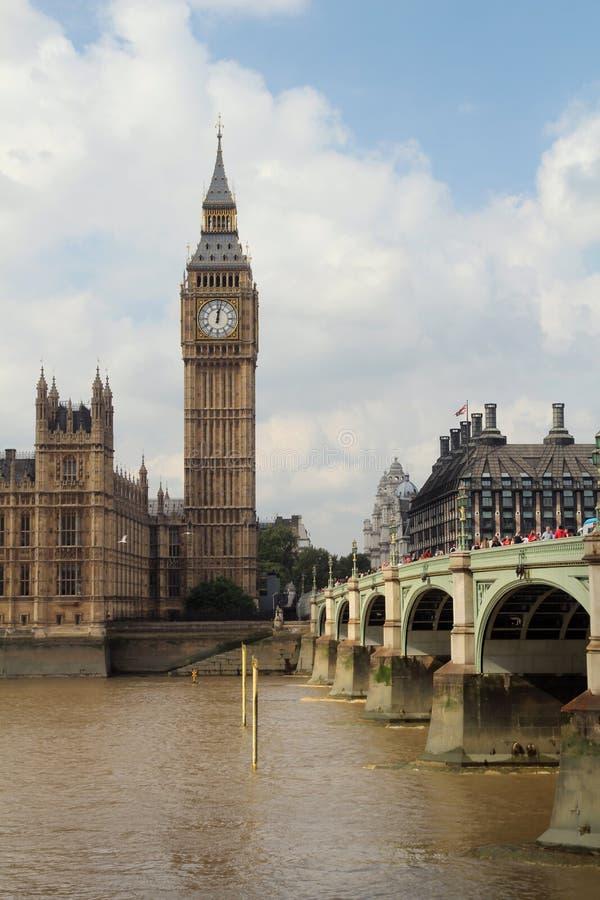 Big Ben (torre) di Elizabeth, Londra immagini stock libere da diritti