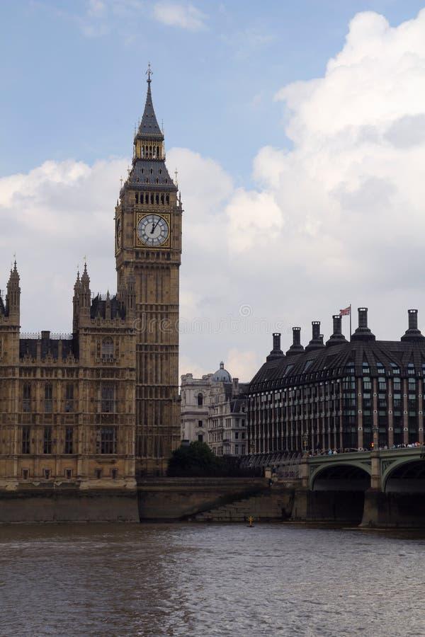 Big Ben (torre) di Elizabeth, Londra fotografia stock libera da diritti