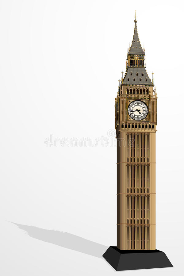 Big Ben Tower Stock Image