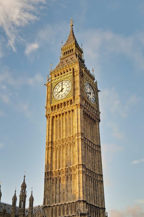 Download Big Ben Tower Clock At London, England Stock Image - Image: 22505265