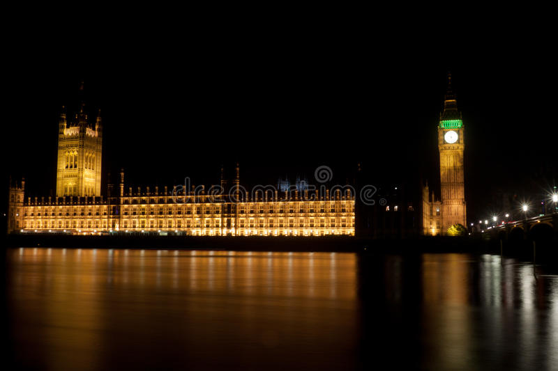 Download Big Ben Tower by night stock image. Image of thames, nightly - 22975635