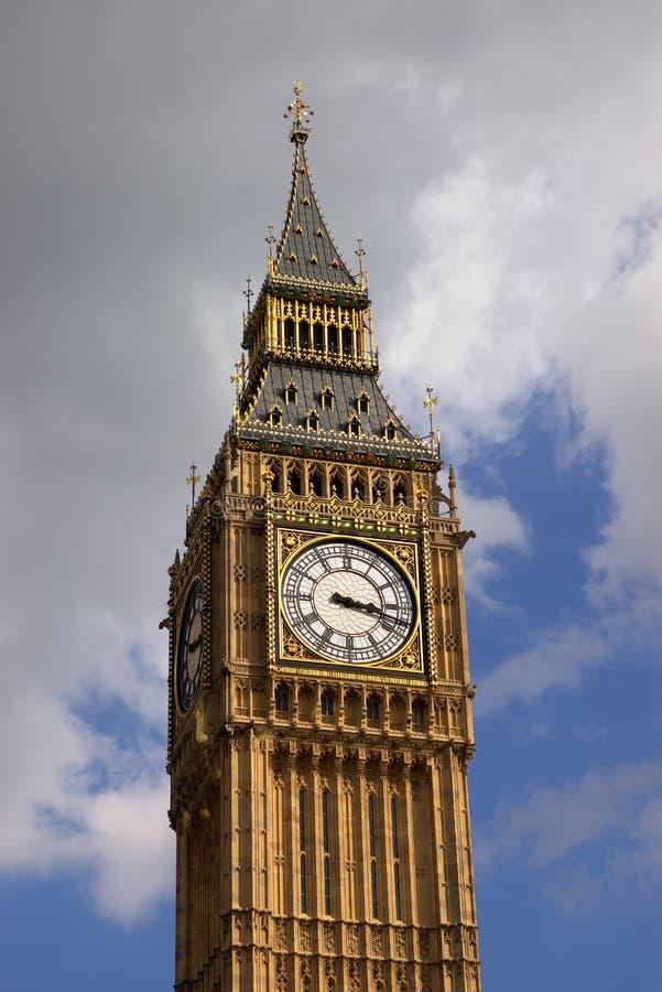 Top Of Big Ben Close Up