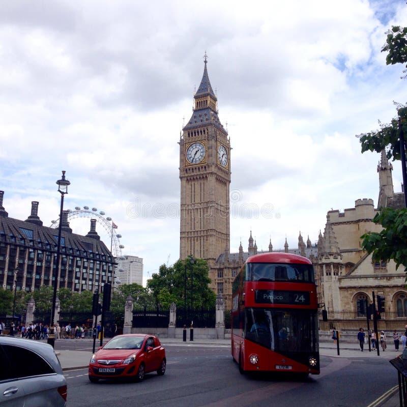 Big Ben van het Parlement Vierkant, Londen stock fotografie