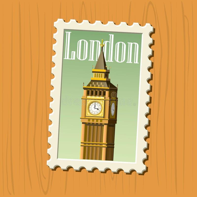 Big Ben Vector Royalty Free Stock Image