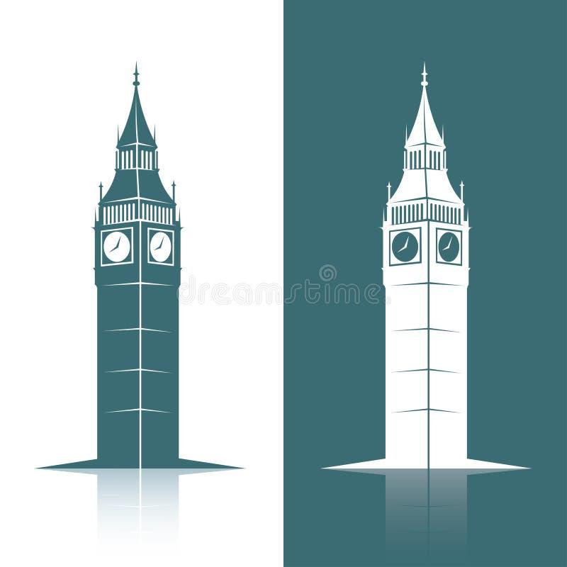 Big Ben. Vector illustration of Big Ben stock illustration