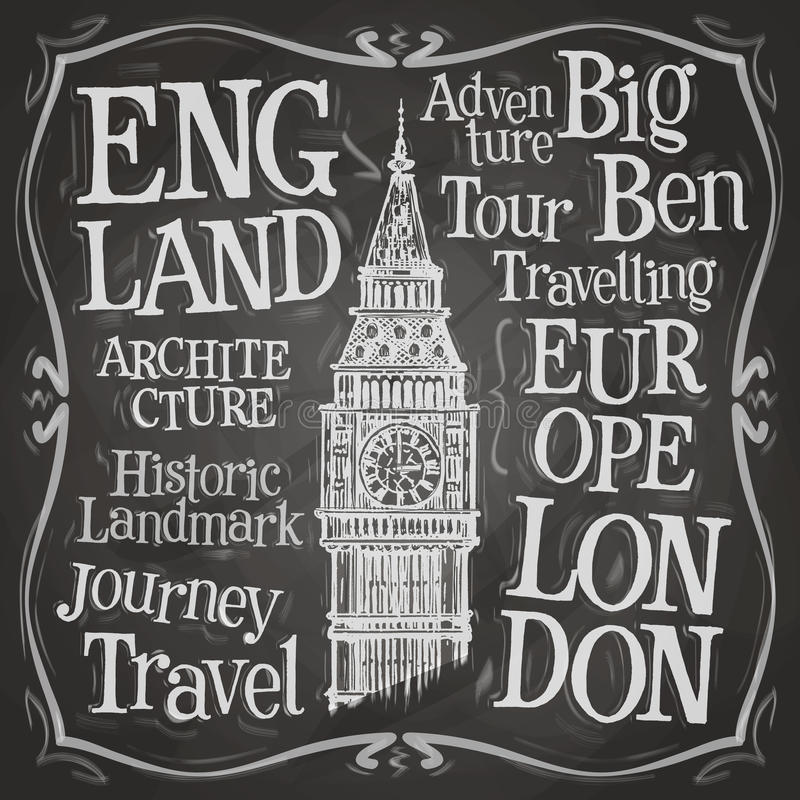 Big Ben vector logo design template. London, UK or vector illustration