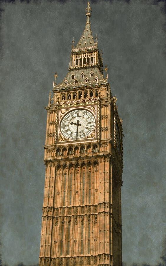 Big Ben - Vintage royalty free stock image
