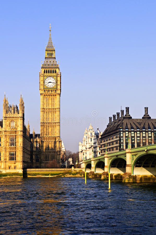 Download Big Ben And Westminster Bridge Stock Image - Image: 11317283
