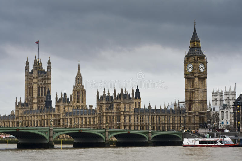 Download Big Ben And Westminster Bridge Stock Photo - Image of london, color: 18383420