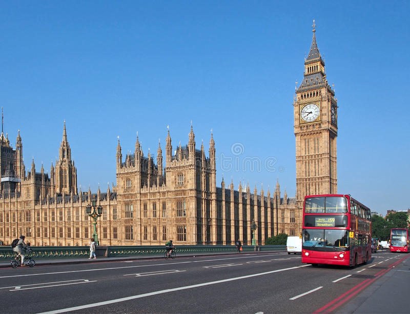 Download Big Ben And Westminster Bridge Royalty Free Stock Image - Image: 32870756