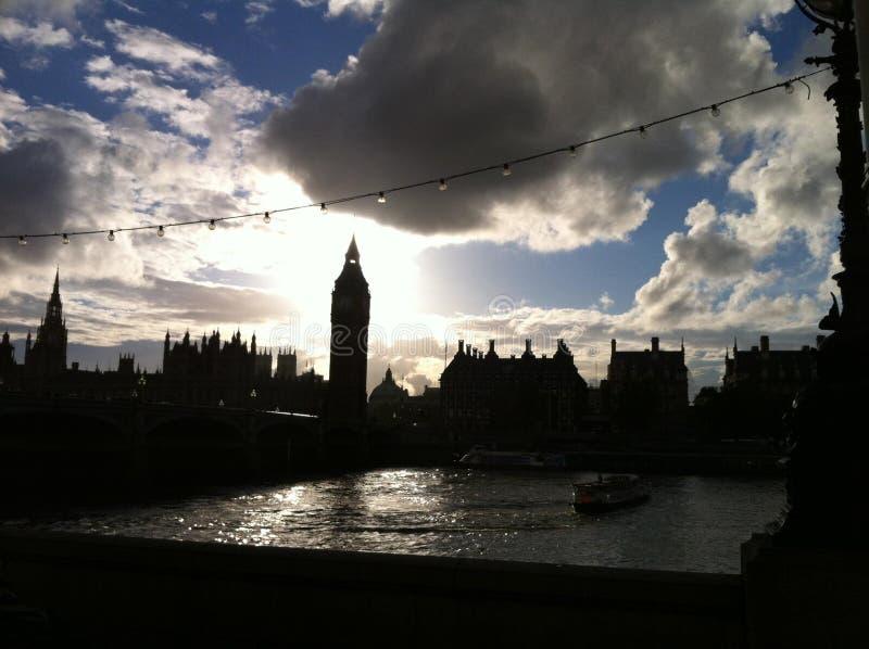 Big Ben wierza w Londyn obraz stock