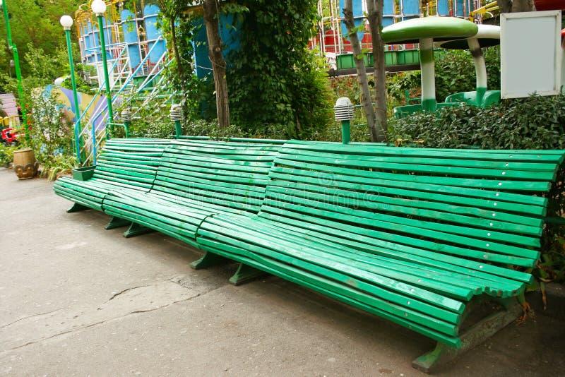Big Bench Stock Image