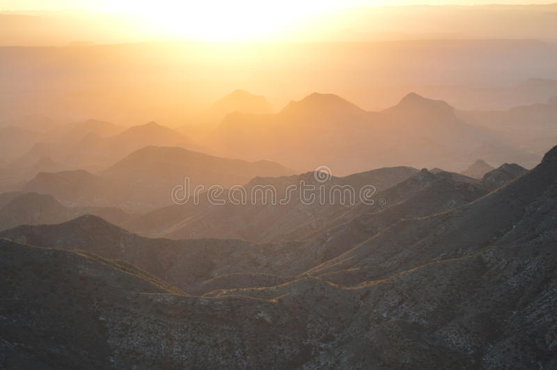 Big Bend National Park, Texas, United States royalty free stock image
