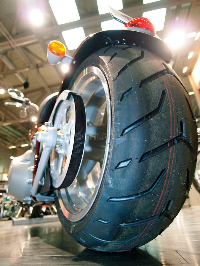 big bike casing chopper tire στοκ φωτογραφίες