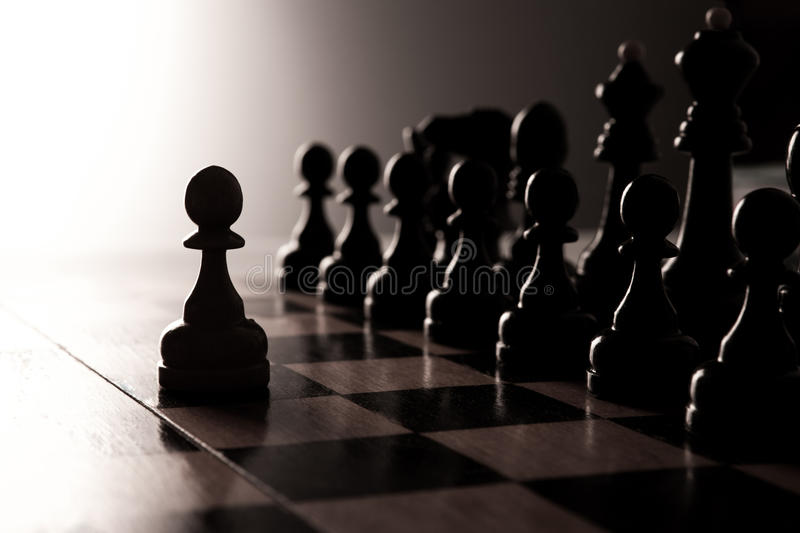 Download Big black chess pieces set stock image. Image of tournament - 36705053